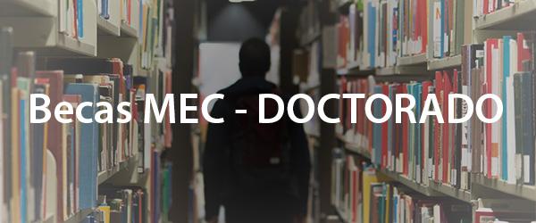 Becas MEC Doctorado