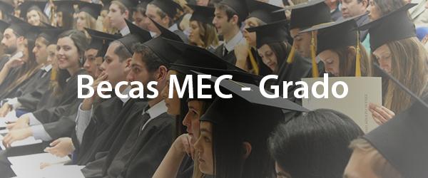 Becas MEC Grado