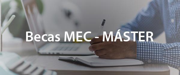 Becas MEC Máster